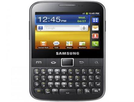 Samsung Galaxy Y Pro Duos : A New Dual Sim Android smartphone
