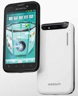 One Touch Ultra 995 Alcatel smartphone