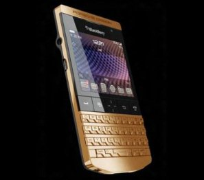 special limited edition of the BlackBerry Porsche Design P9981