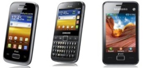 Technical specs of DualSIM phones Samsung Galaxy DUOS