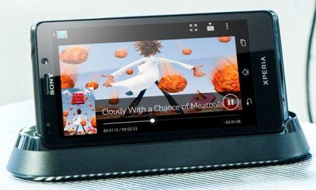 The smart phone Sony Xperia T is certified for HD calls