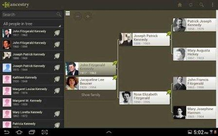 Ancestry is an interesting tool that can also be obtained for free through Google Play