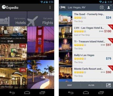 Expedia is a tool that can boast of design, which makes it very intuitive and can provide you or flight and hotel booking in just four steps