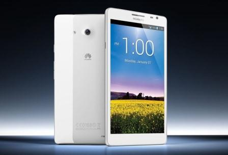 HUAWEI Ascend Mate, at the 2013 Consumer Electronics Show (CES)