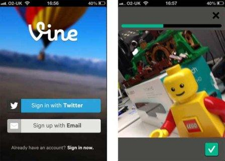 Vine is a Twitter style video social network