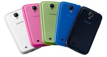 Protective Cover + covering the sides and the rear of the Samsung Galaxy S4