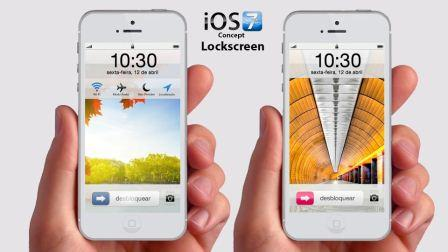 Rumors that Apple is preparing major design changes with iOS 7