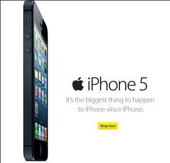 With discount Best Buy in the U.S., the iPhone 5 going to cost $ 199 to $ 150 with a contract of two years