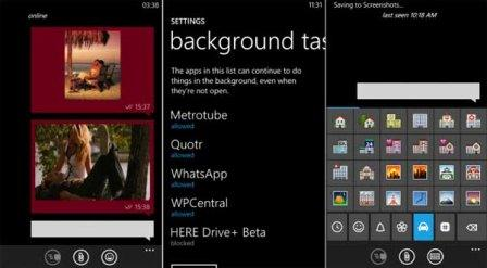 the trajectory of WhatsApp for Windows Phone are awaited and useful options
