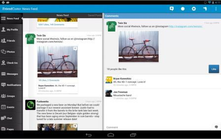 Friendcaster for Facebook is one of the best Facebook client for Android phones