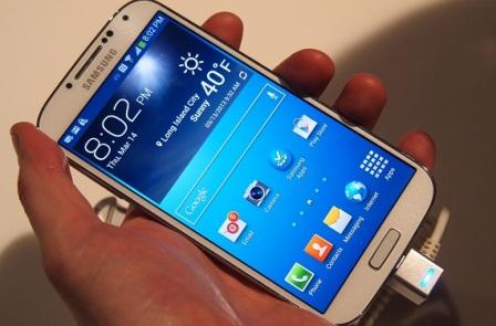 Samsung Galaxy S4 due to rapid wear and tear of the batteries of their mobile devices