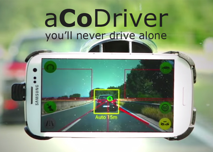 aCoDriver 3 is one of the essential applications for the car that will act as co-pilot but with features that seem taken from a futuristic movie