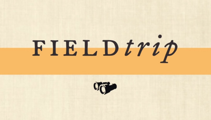 Field Trip is a simple, lightweight app that uses the GPS positioning and to be constantly running in the background
