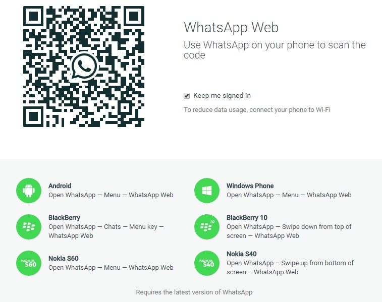 WhatsApp Web, new update with photo profile and improvements for chatting