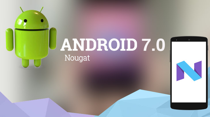 Google at this time began the official release of Android 7.1.1 Nougat but not the Pixel and the Nexus, but on Android One device