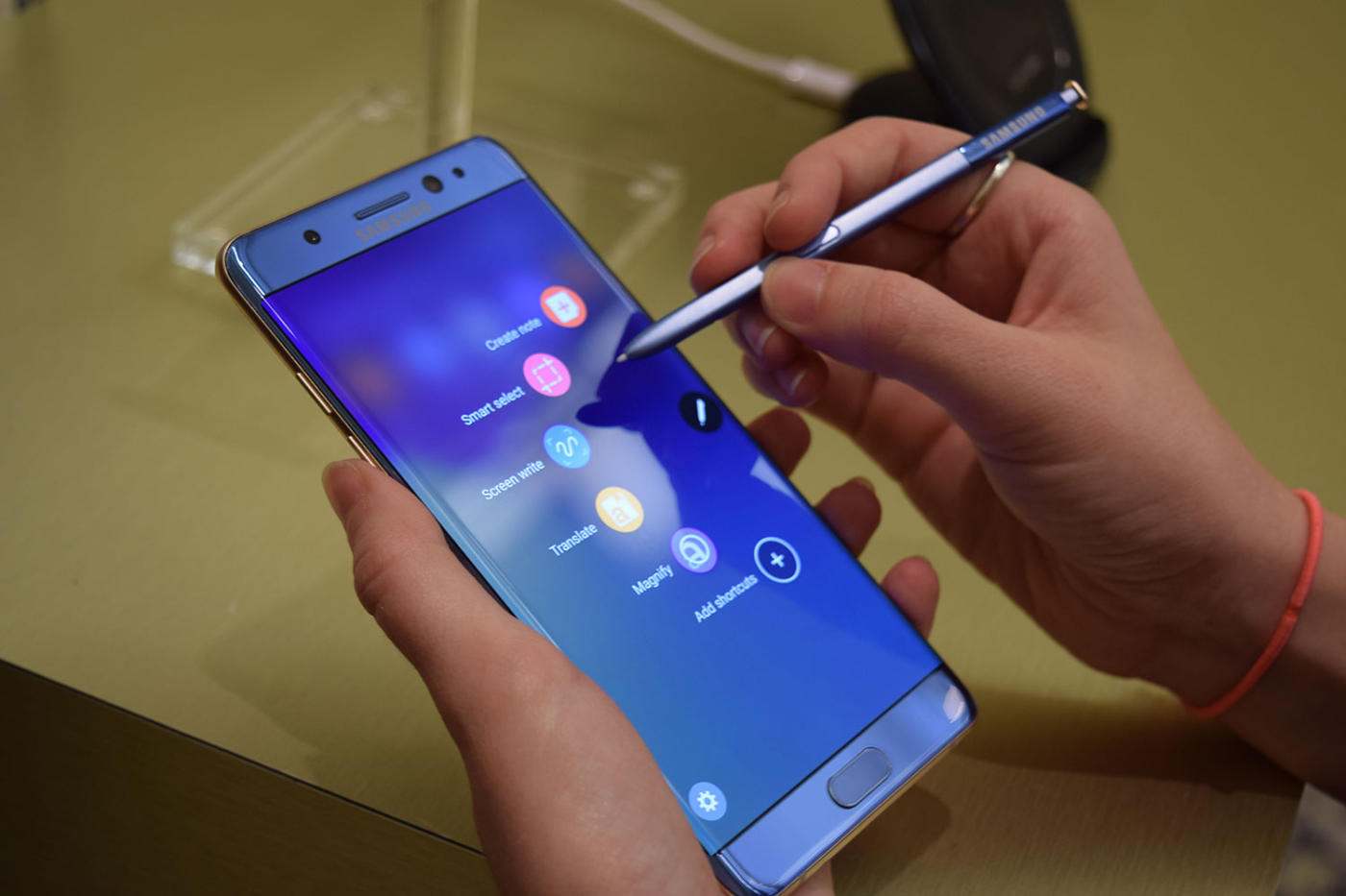 The reconditioned Galaxy Note 7 will be available in South Korea