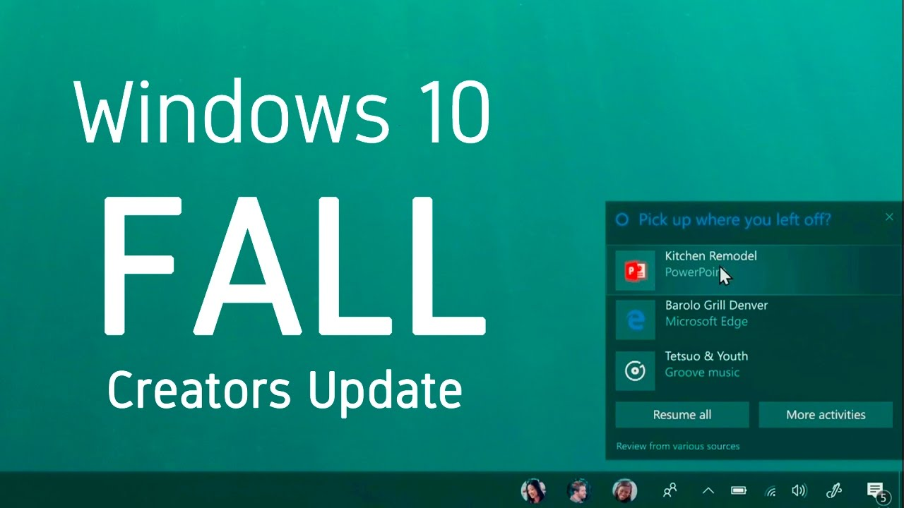 Upgrading to Windows 10 Fall Creators Update