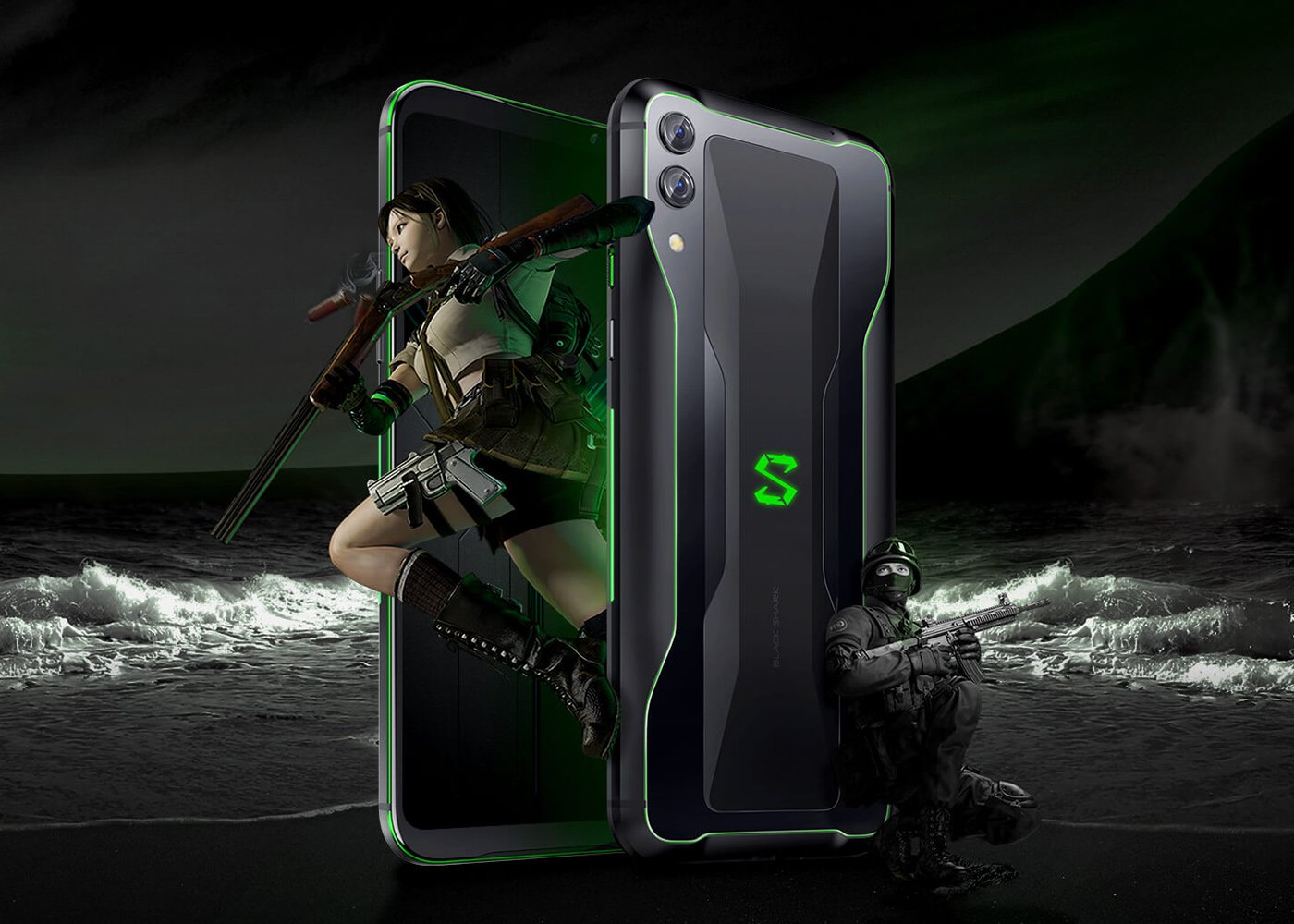 "New Black Shark 2: the mobile for ""gamers"" of Xiaomi is renewed with Snapdragon 855, 12 GB of RAM and OLED screen"