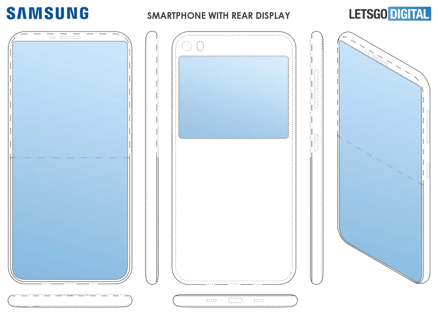 Samsung works on a dual display device