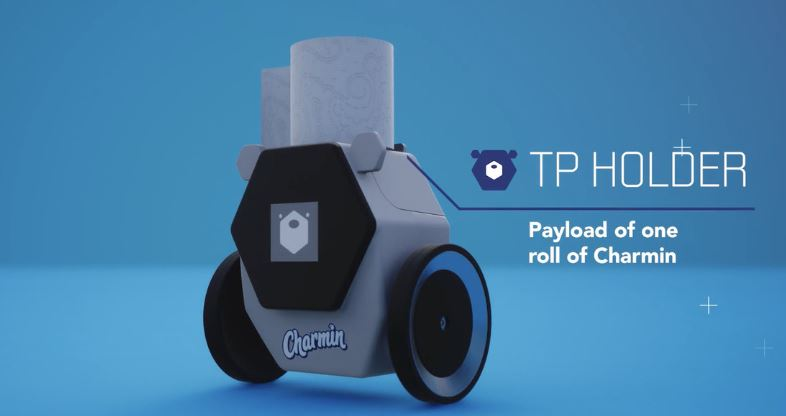 It is called Rollbot and has been presented at this CES 2020 by the American company Procter & Gamble