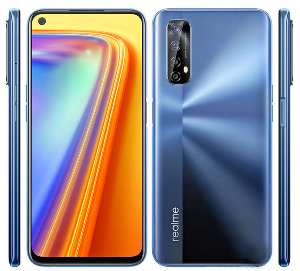 realme 7 Pro is available in two colors : Mirror White and Mirror Blue and in a single hardware version
